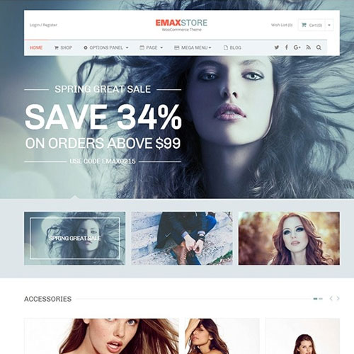 MyThemeShop Emaxstore WordPress Theme