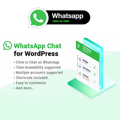 WhatsApp Chat WordPress