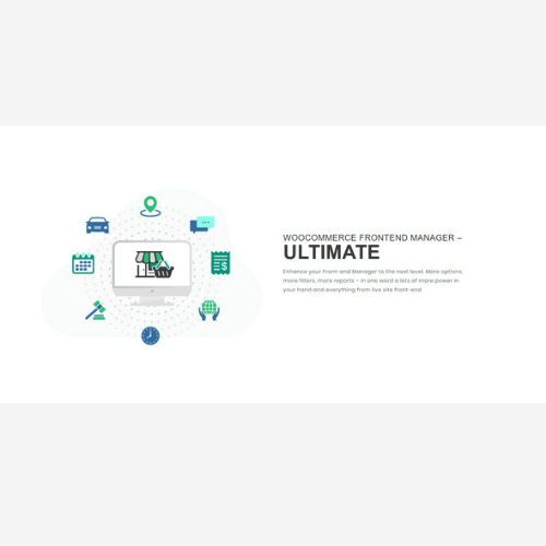WooCommerce Frontend Manager Ultimate (WCFM)
