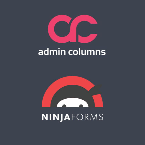 Admin Columns Pro Ninja Forms