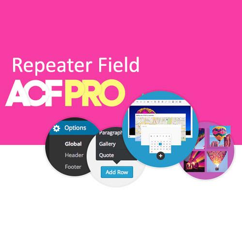 Advanced Custom Fields Repeater Field Addon