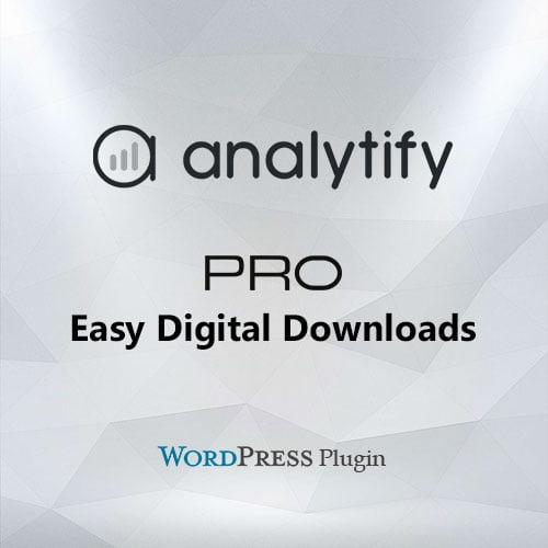Analytify Pro Easy Digital Downloads Add-on