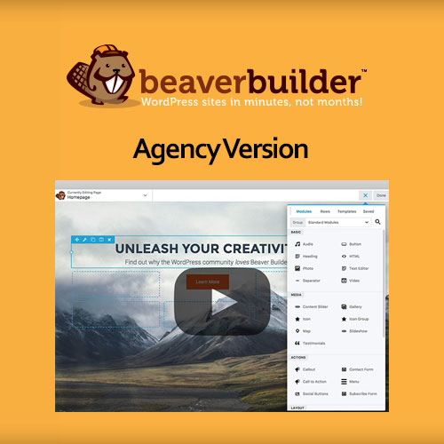 Beaver Builder Plugin – Agency Version