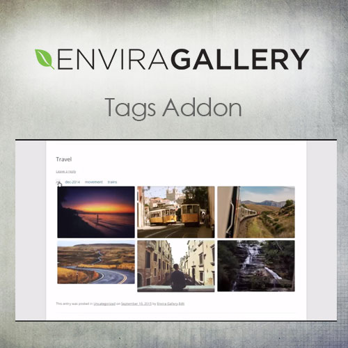 Envira Gallery – Tags Addon