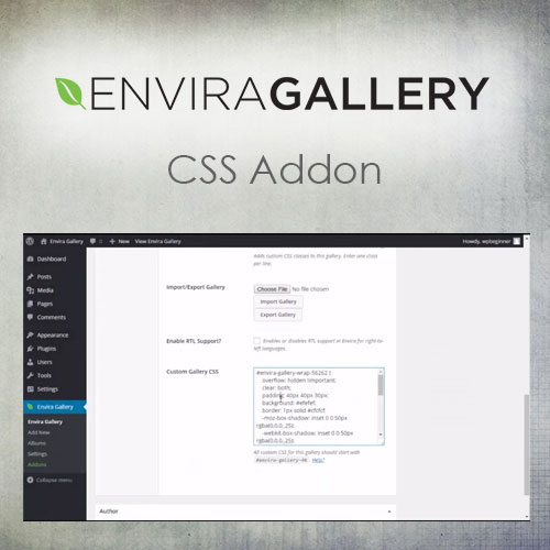 Envira Gallery   CSS Addon