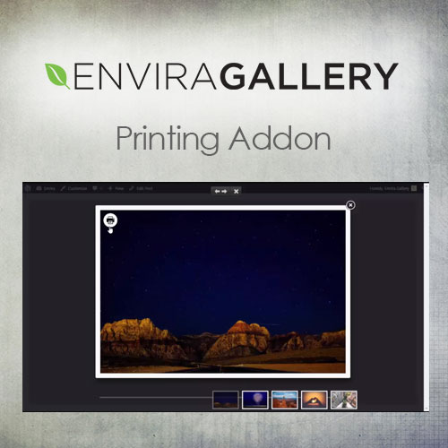 Envira Gallery   Printing Addon
