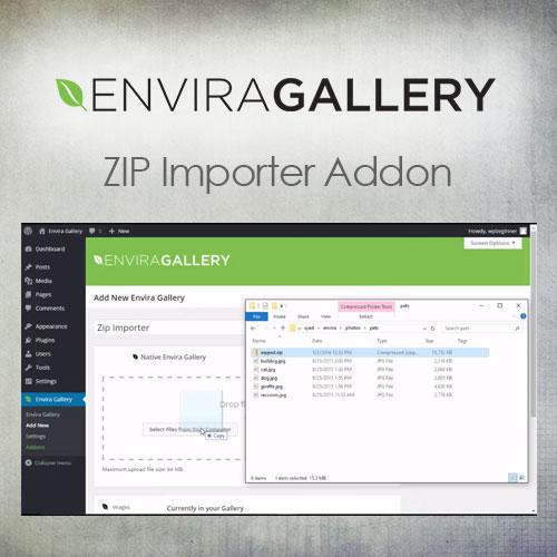Envira Gallery   ZIP Importer Addon