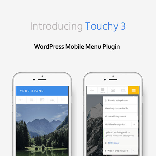 Touchy – WordPress Mobile Menu Plugin