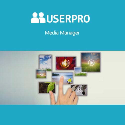 UserPro – Media Manager Add-on