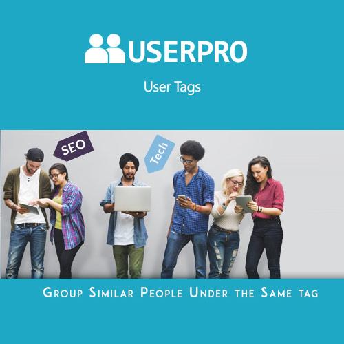 UserPro – Tags Add-on